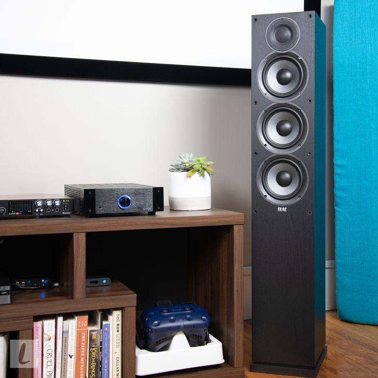 ELAC Debut 2.0 F5.2 Floorstanding Tower Speakers