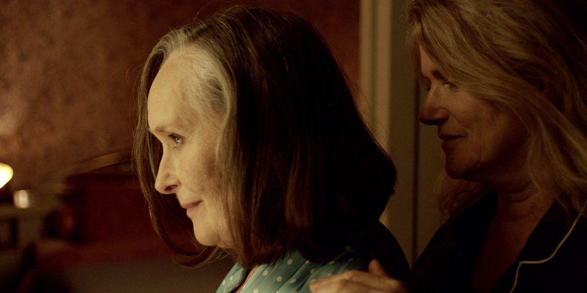 Barbara Sukowa and Martine Chevallie in Two of Us