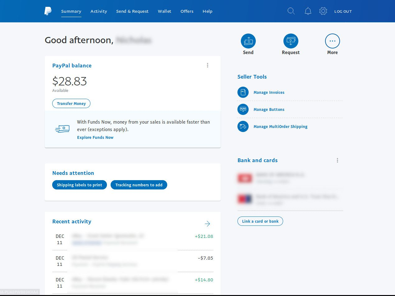 How to Add Money to PayPal Without a Bank Account