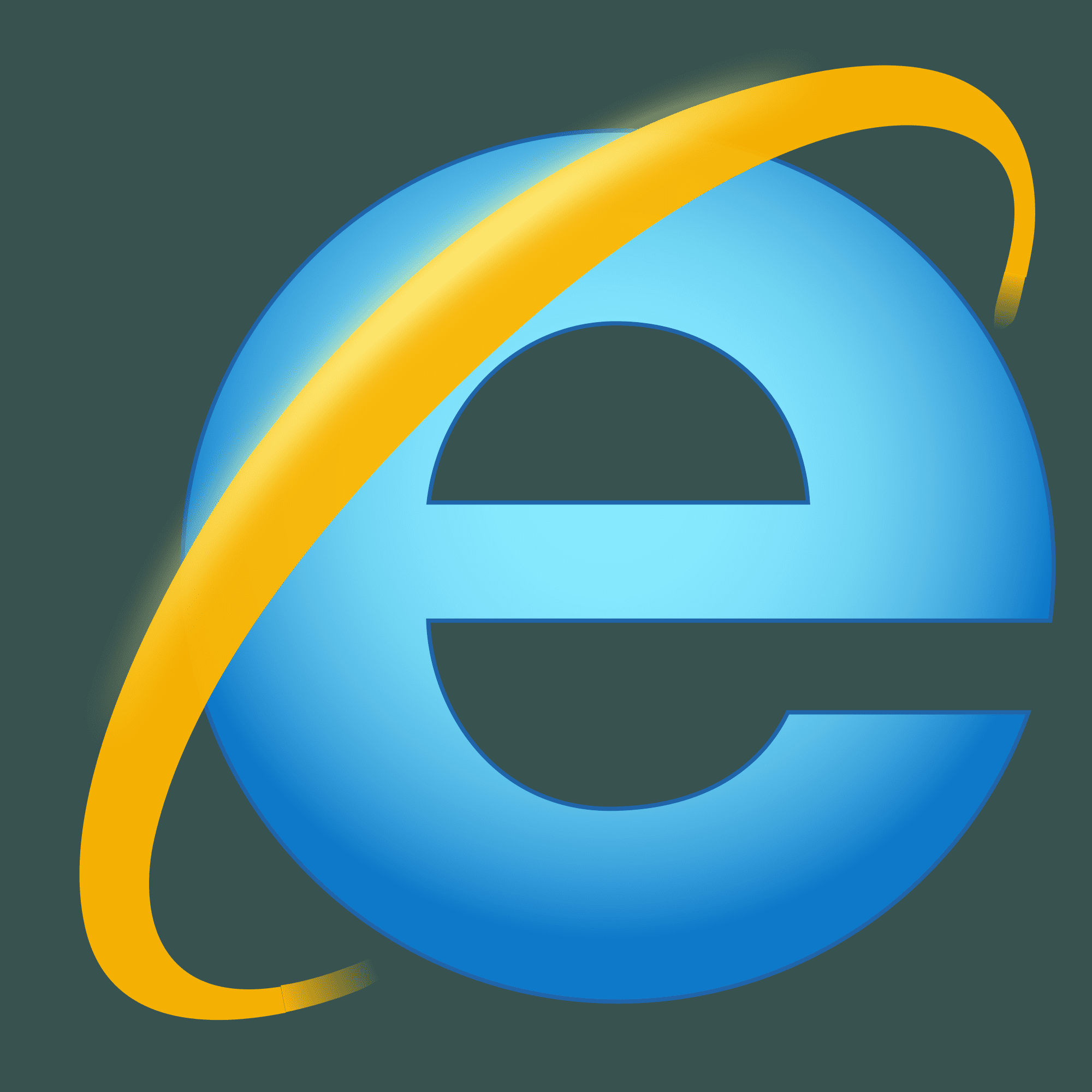 how to change the internet explorer image