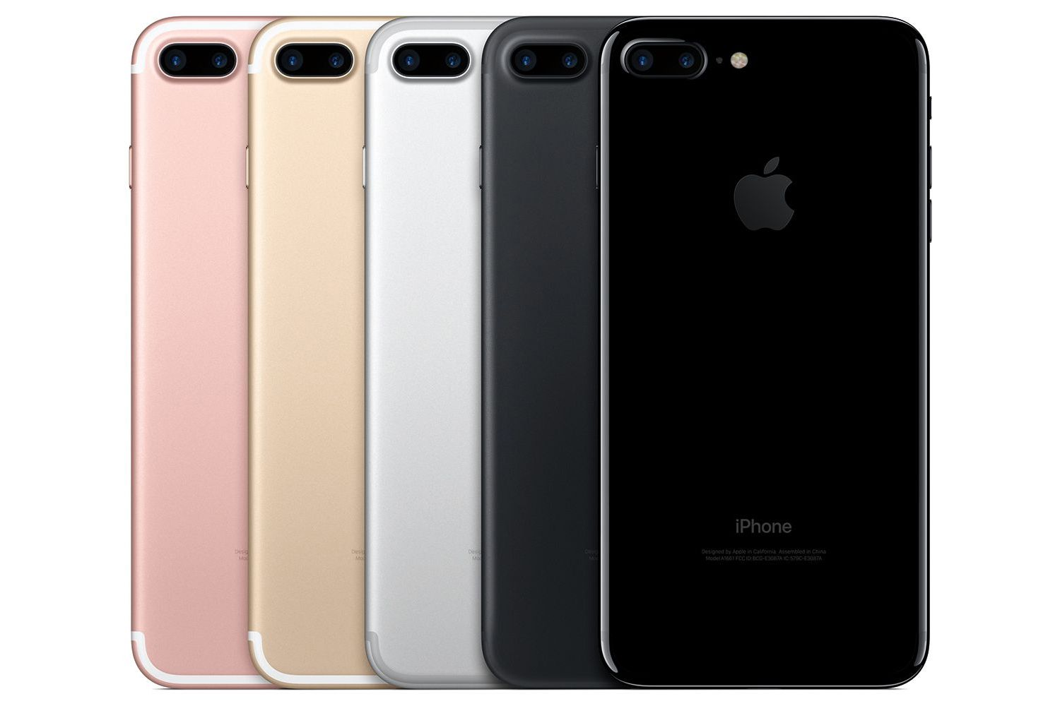 iPhone 7 color options