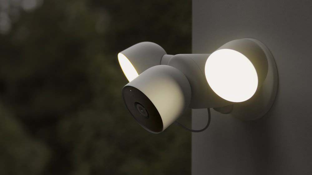 The Google Nest Cam with floodlight