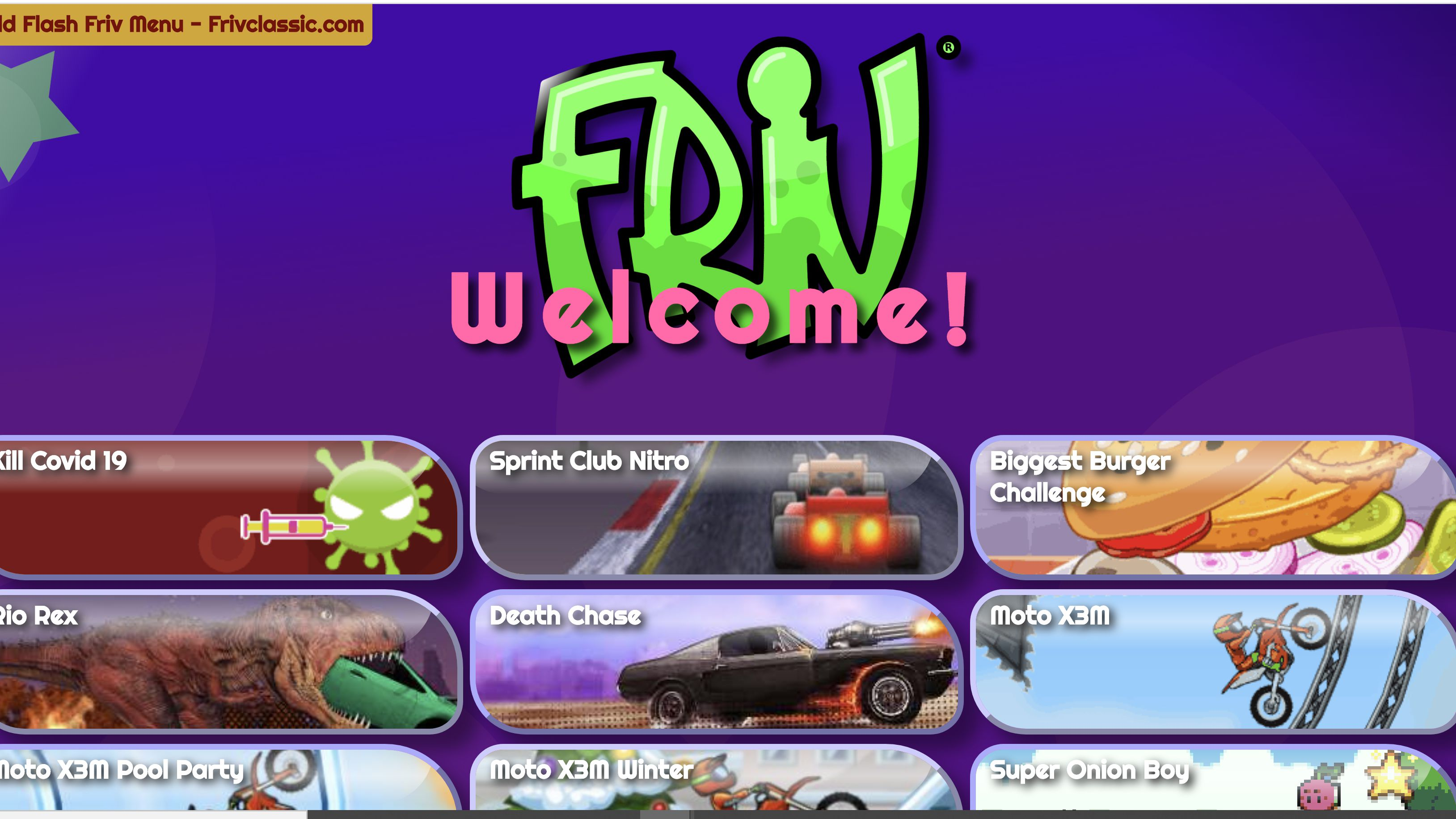 Guide To The Free Friv Games Network