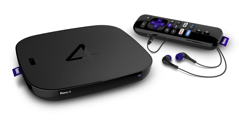 Product photography of Roku 4