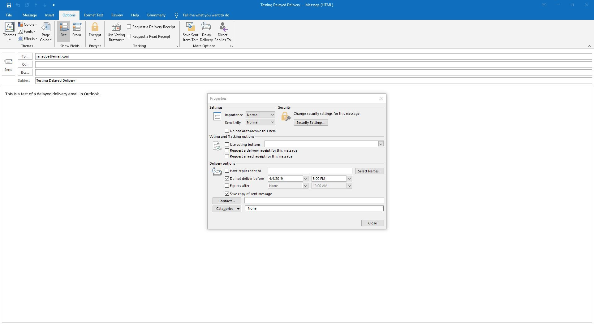 How to Delay Delivery of Emails in Microsoft Outlook