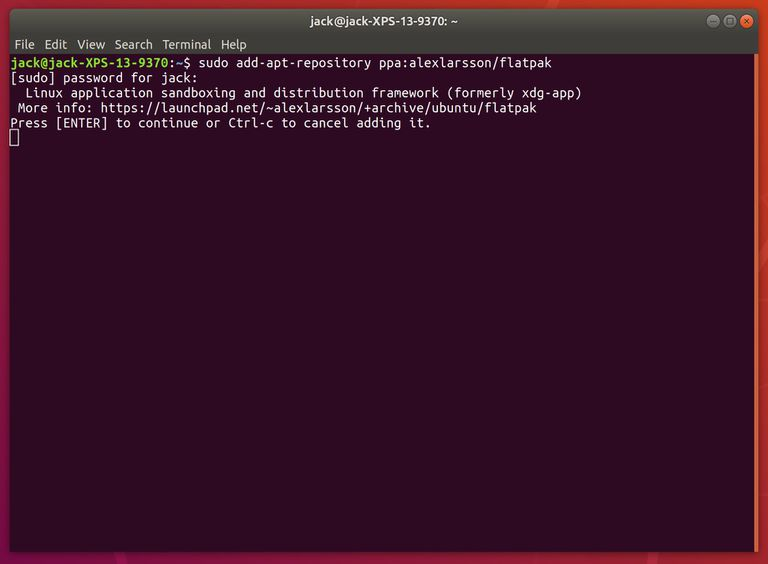 Adding repositories from the command line.