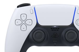 Sony's PlayStation 5 DualSense PS5 wireless controller.