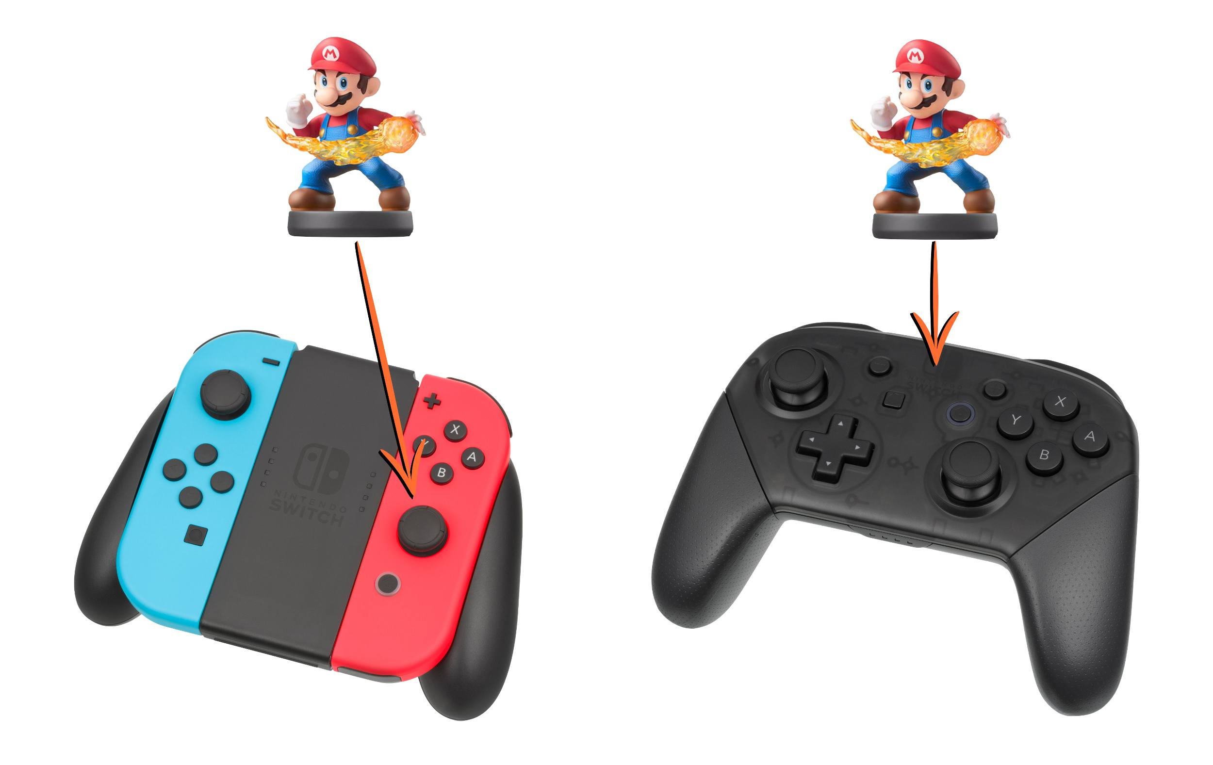How To Use Amiibo On Nintendo Switch 8 Way Joystick Scan An With