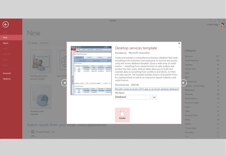 Make Microsoft Access Simpler with Free Templates