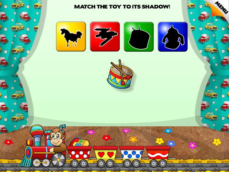 Screenshot Of The Toddler Kids Game IPad App