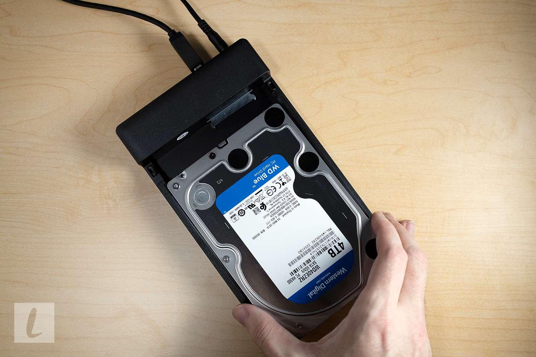 WD Blue 4TB Hard Drive