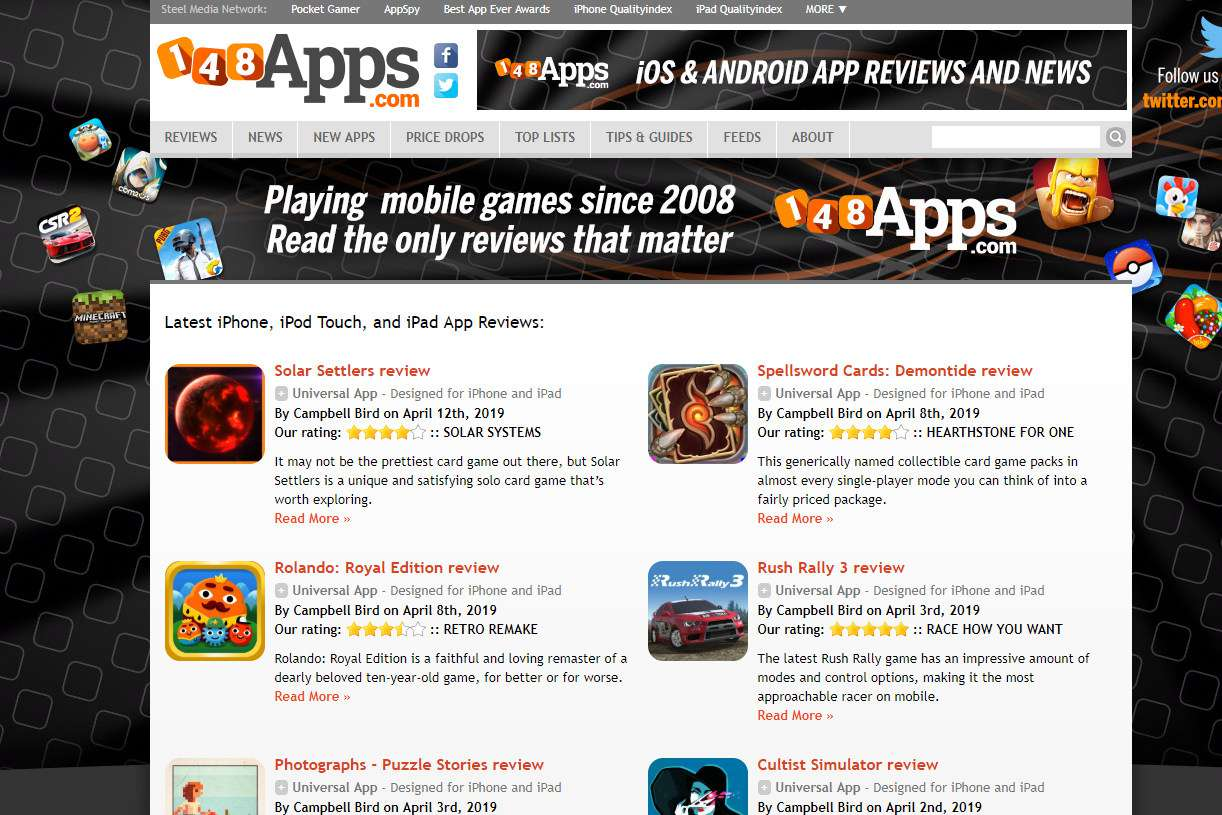 iPhone App Review Sites for Developers