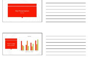 Multi-Page PowerPoint Handout