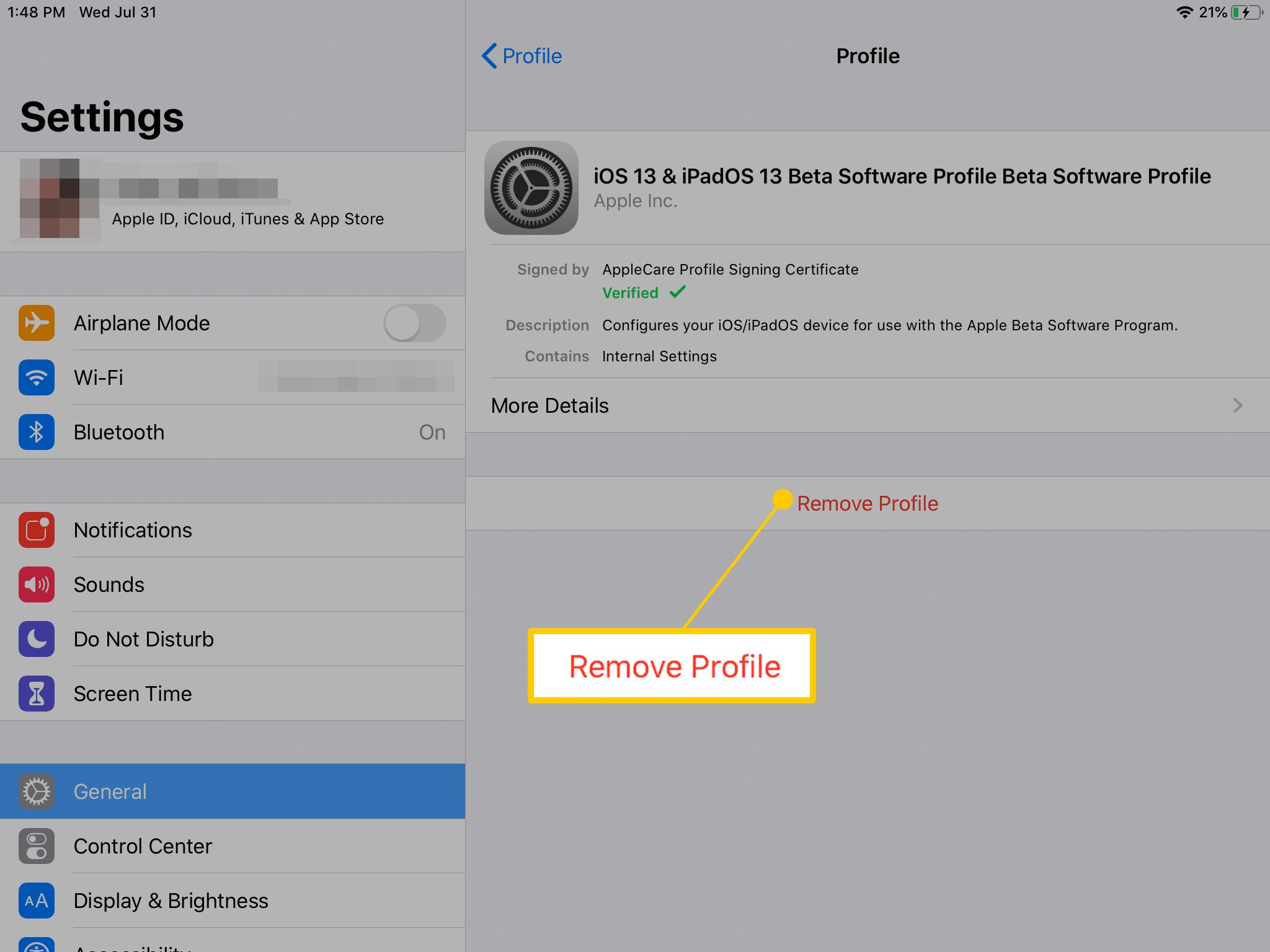How to Update Your iPad