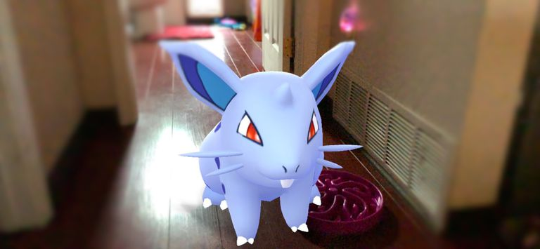 Nidoran AR from Pokemon Go