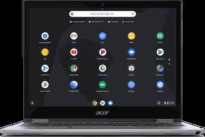 Chrome OS on an Acer laptop/chromebook