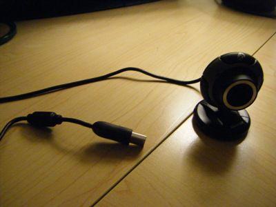 Webcams Have a USB Connection
