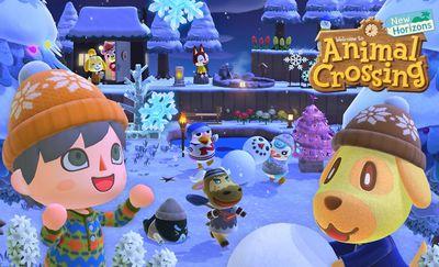 Animal Crossing: New Horizons winter