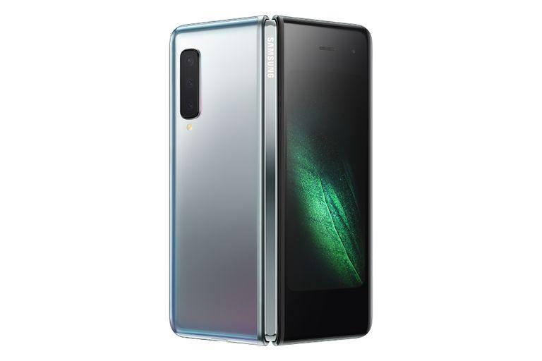 Samsung Galaxy Fold smartphone.