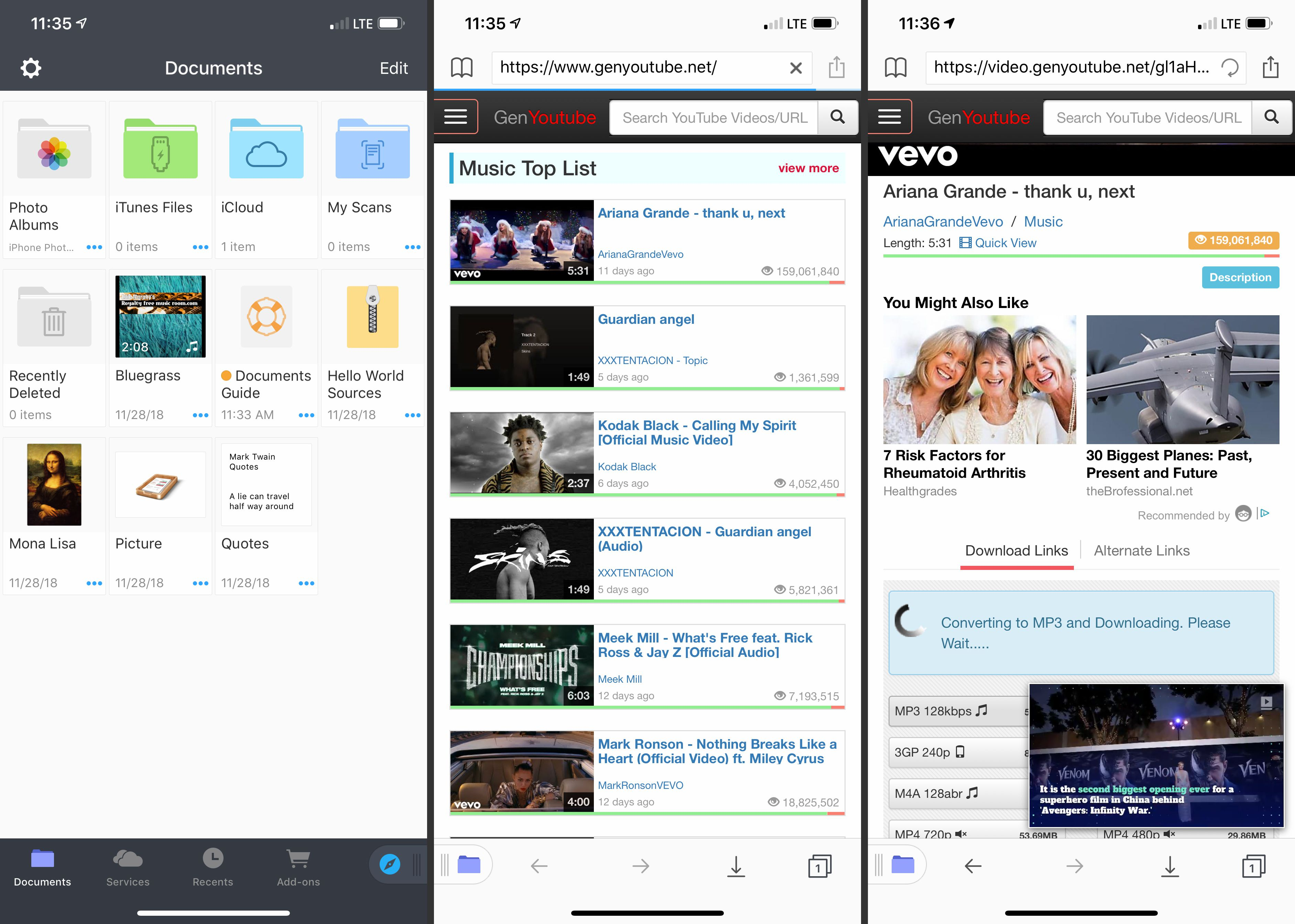 youtube video to mp3 app
