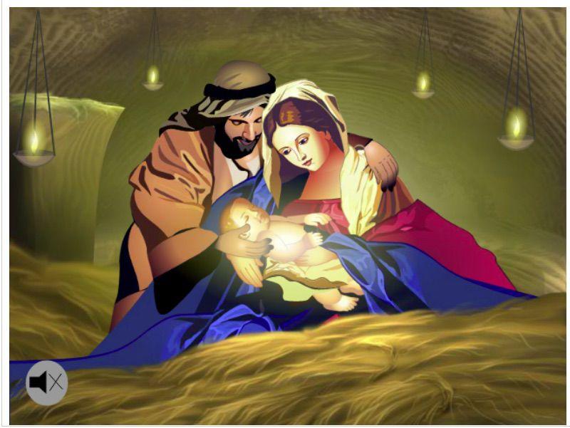 A Savior Is Born Christmas e-card