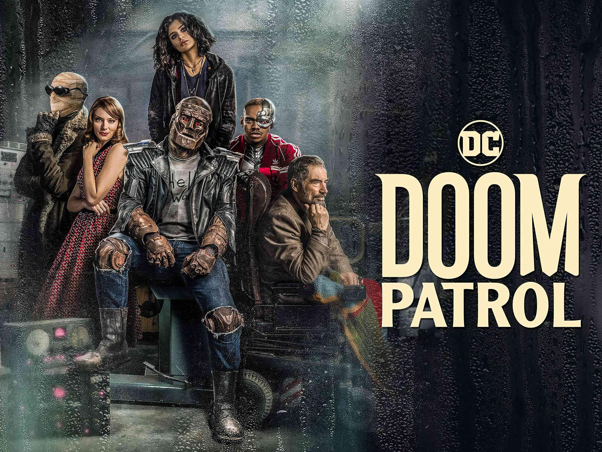 The cast of Doom Patrol