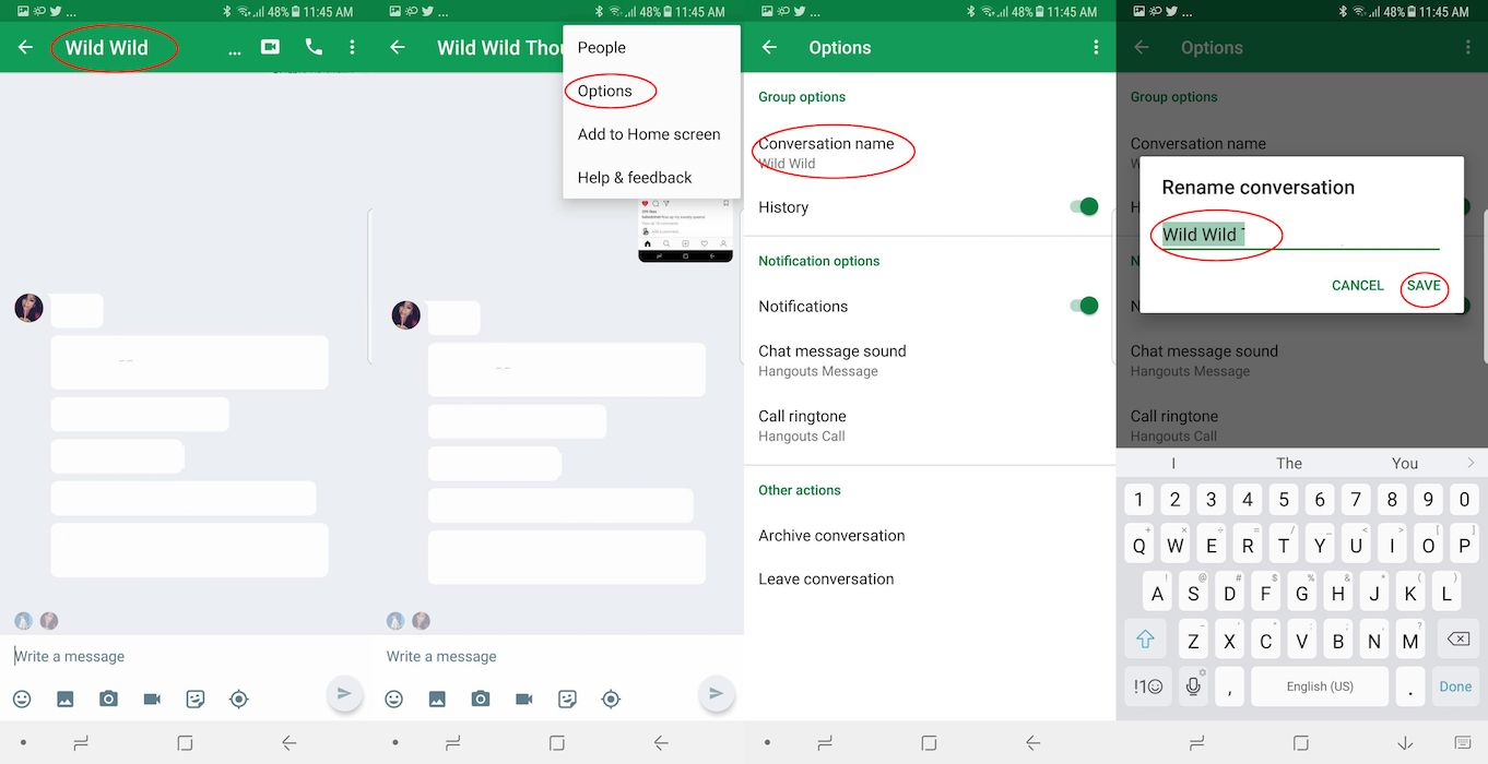 How to Create Group Chat Names on iPhone and Android