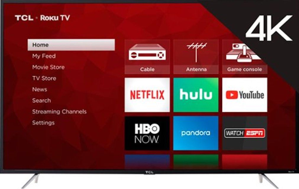 029d45a5cc2 Best Budget  TCL 65S405 4K UHD TV with HDR