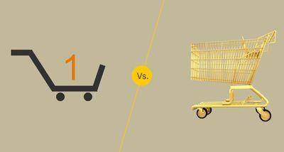 Online vs in-store shopping