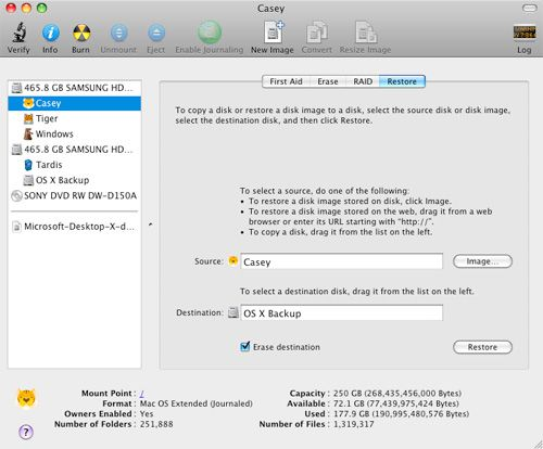 Back Up Your Startup Disk Using Disk Utility