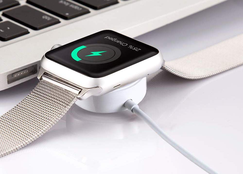 Charging apple watch