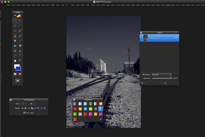 Pixelmator Screen Shot