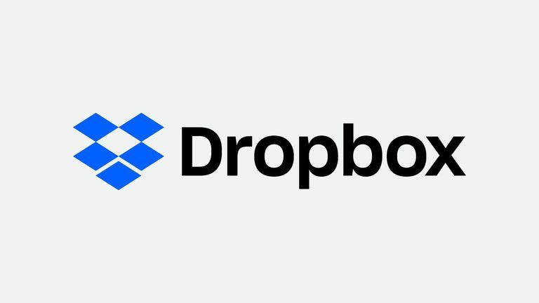 The Dropbox logo.