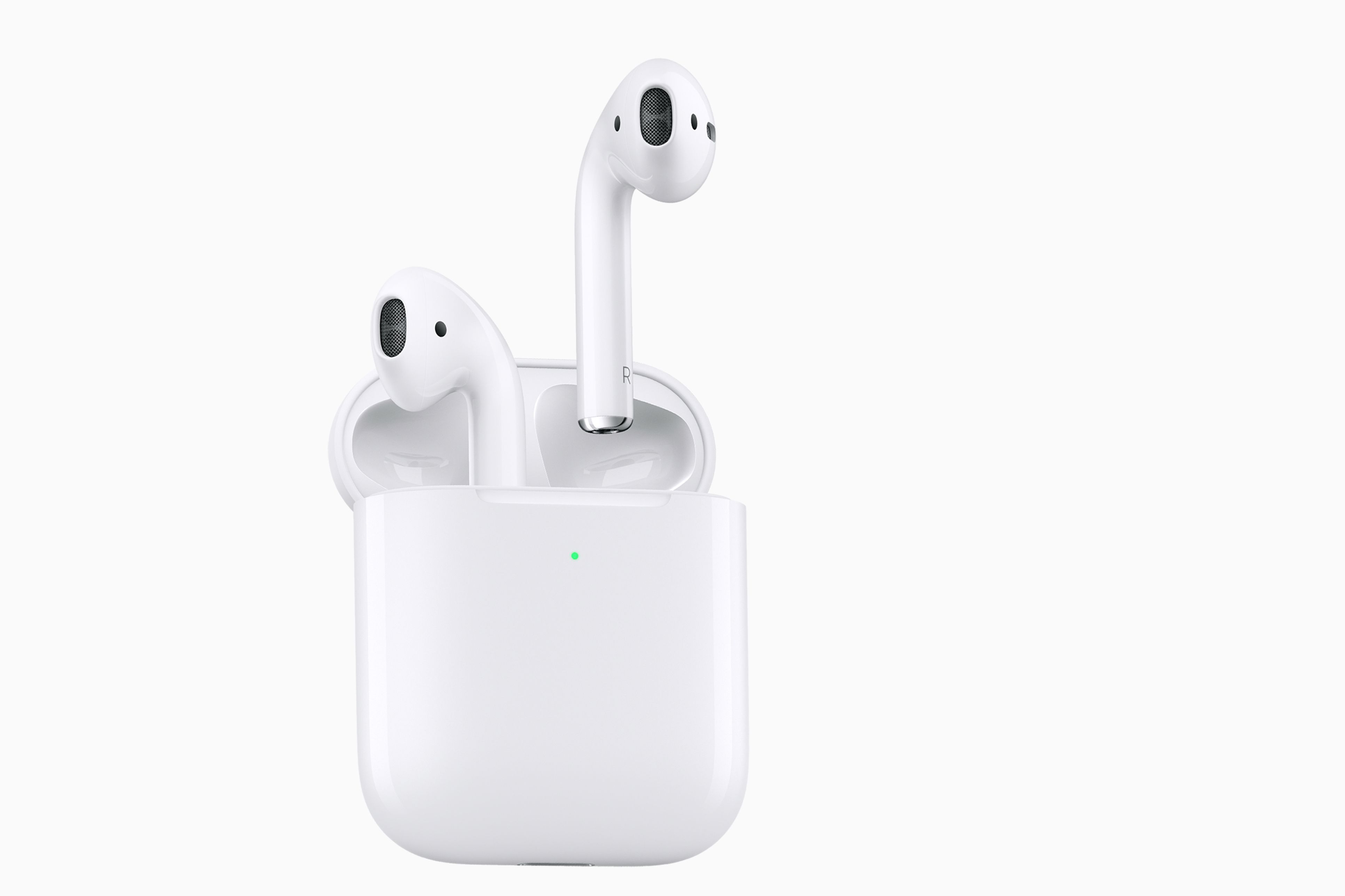 Apple AirPods in the charging case