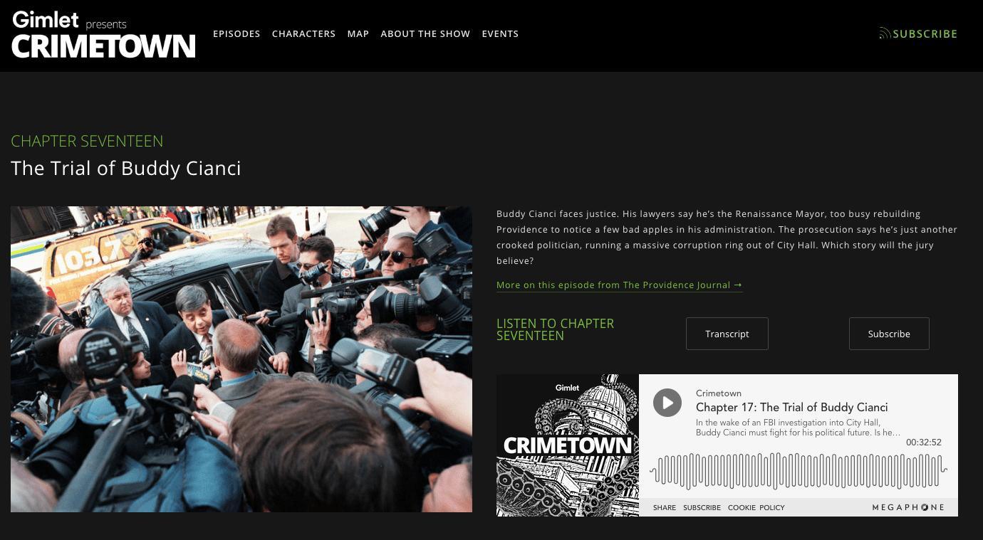 Crimetown screenshot