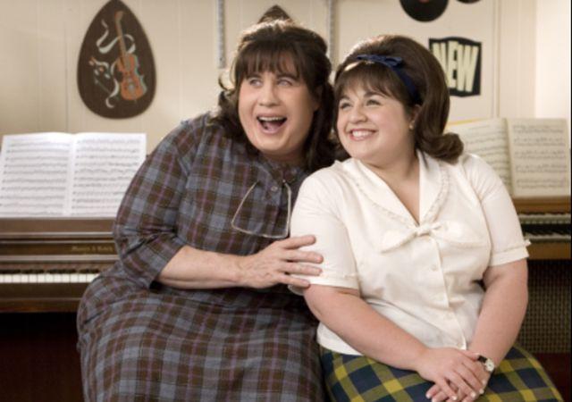 John Travolta and Nikki Blonsky in 'Hairspray.'