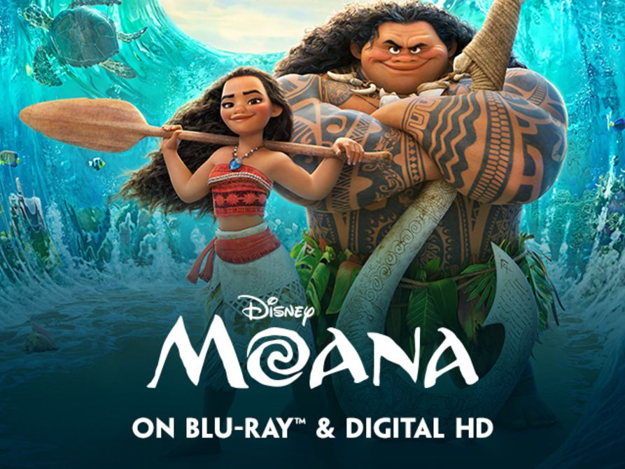 Promotional image for the film Moana