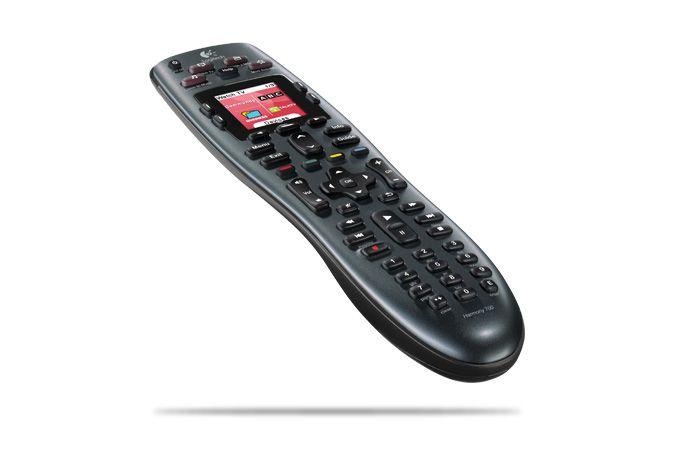 Logitech Harmony 700 Universal Remote - Tilt