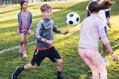 Kids wearing the Fitbit Ace tracker