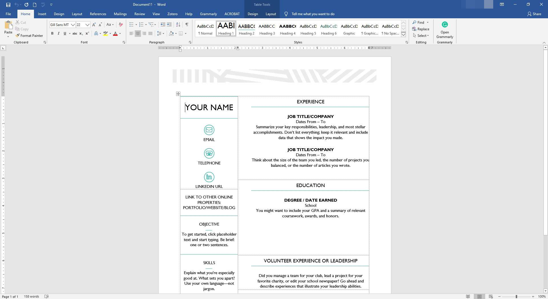 free digital resume templates by moo for microsoft office
