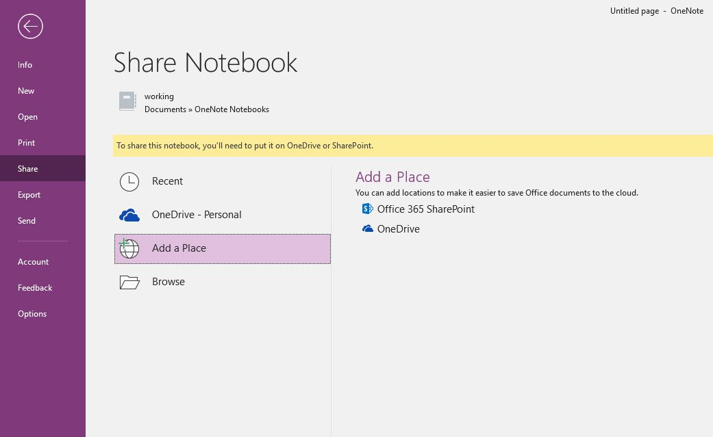 How to Sync OneNote to Your OneDrive Account