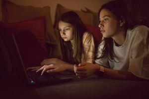 Teen girls online