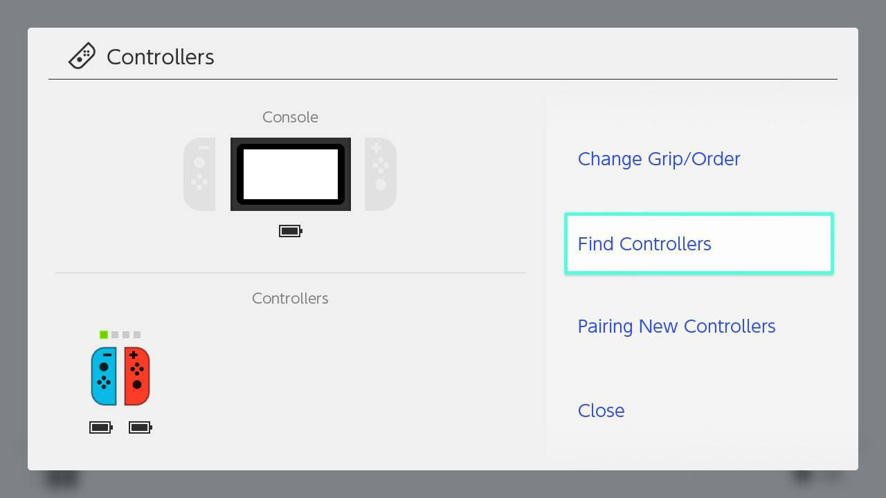 Select Find Controller.