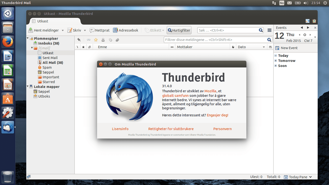 Restoring Mozilla Thunderbird Profile From Backup Copy