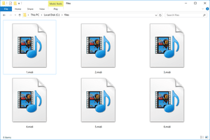 MIDI files in Windows 10 that open with Windows Media Player