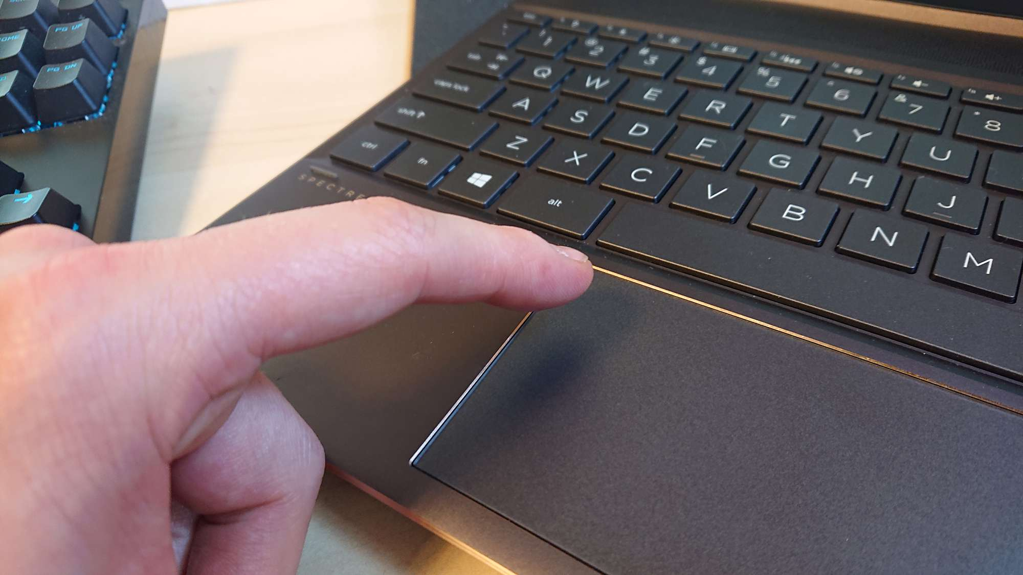 HP Touchad on a Spectre x360- 13