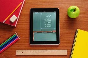 chalkboard picture on iPad