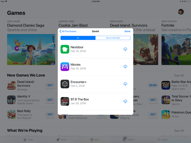 How to Restore Apps and Games to Your iPhone or iPad