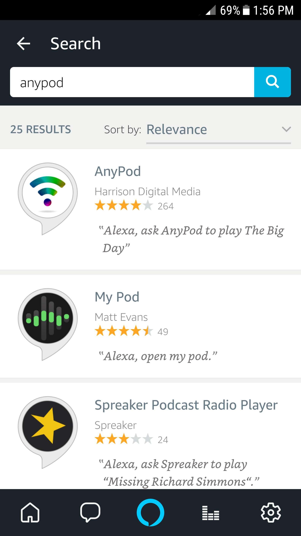 alexa app skills search