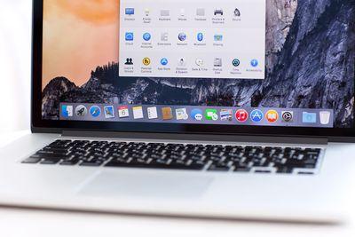 MacBook Pro Retina with OS X Yosemite